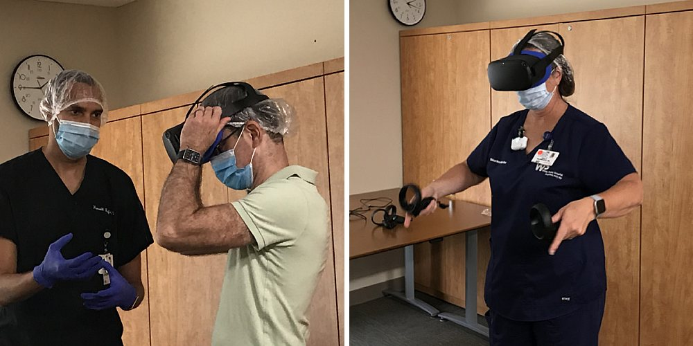 Medical VR Training Sessions